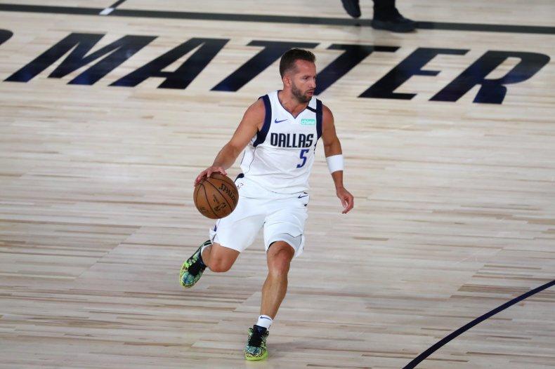 Dallas Mavericks guard J.J. Barea