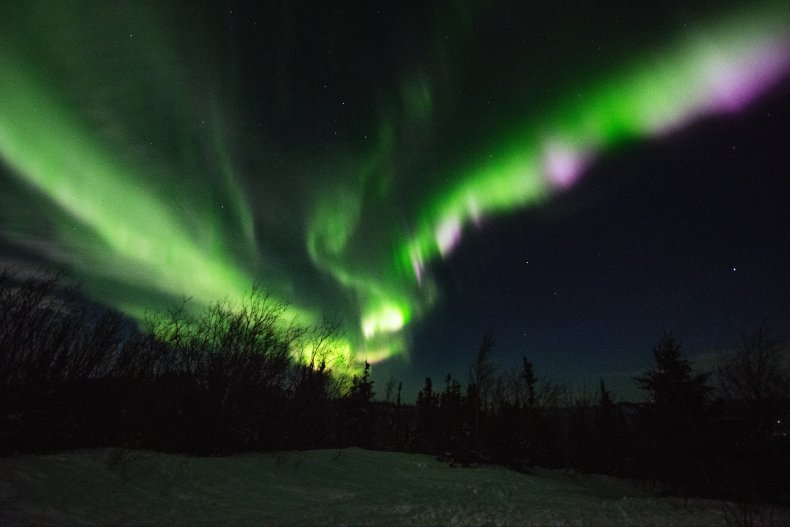 Northern Lights Alaska January 2017