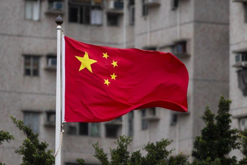 China's National Flag Flies in Hong Kong