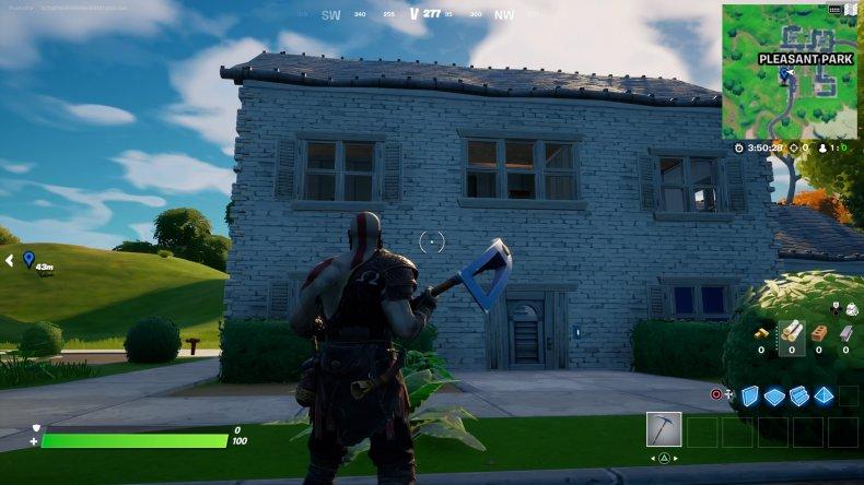 fortnite clue locations pleasant park house