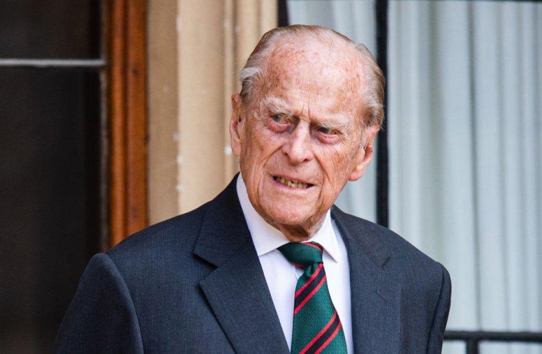 Prince Philip at Windsor Castle 2020