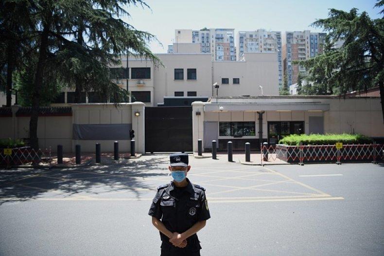 US Embassy China