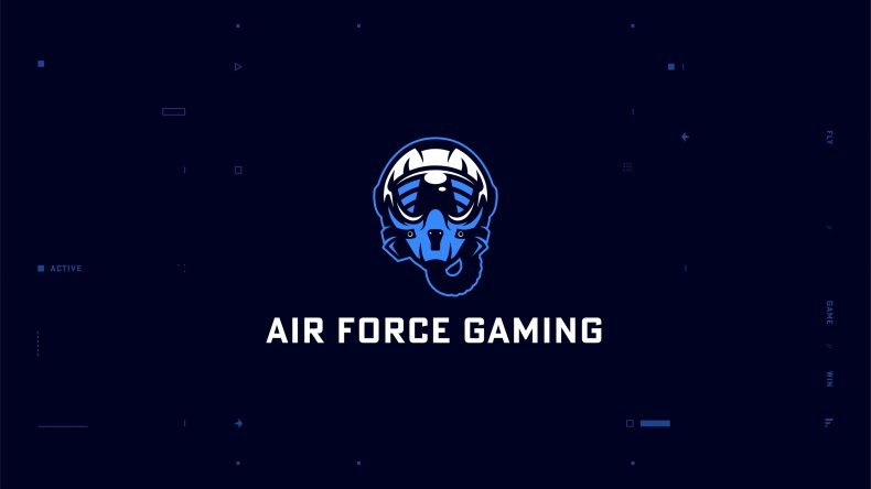 air force gaming logo