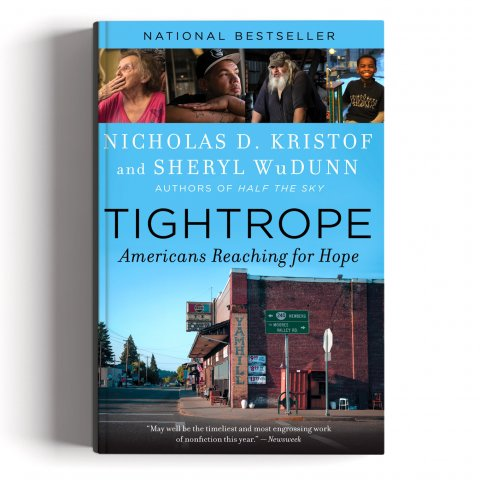 Books_Tightrope- Americans Reaching for Hope By Nicholas