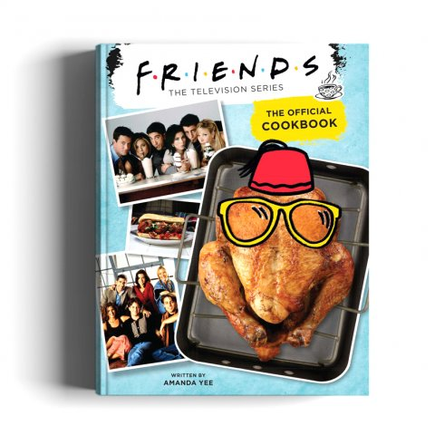 Books_Friends- The Official Cookbook By Amanda Yee