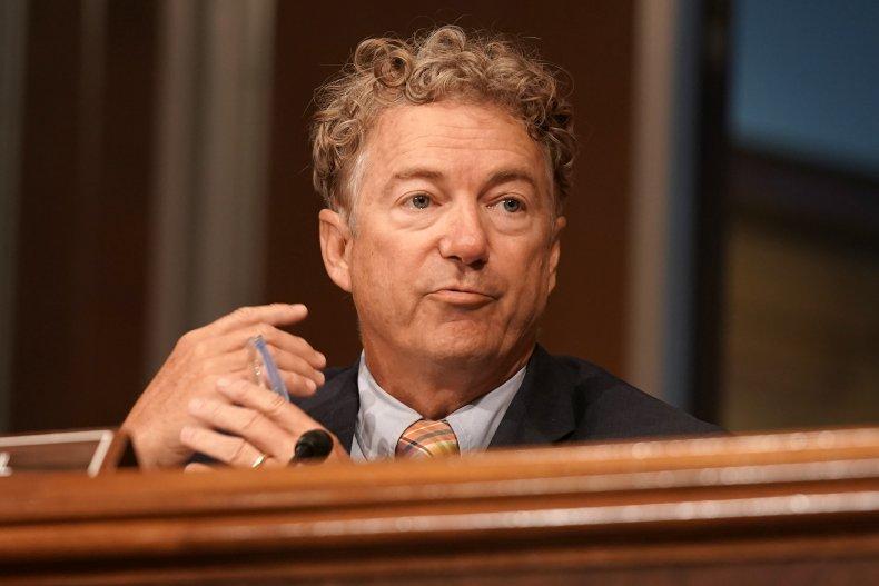 rand paul opposes defense spending bill