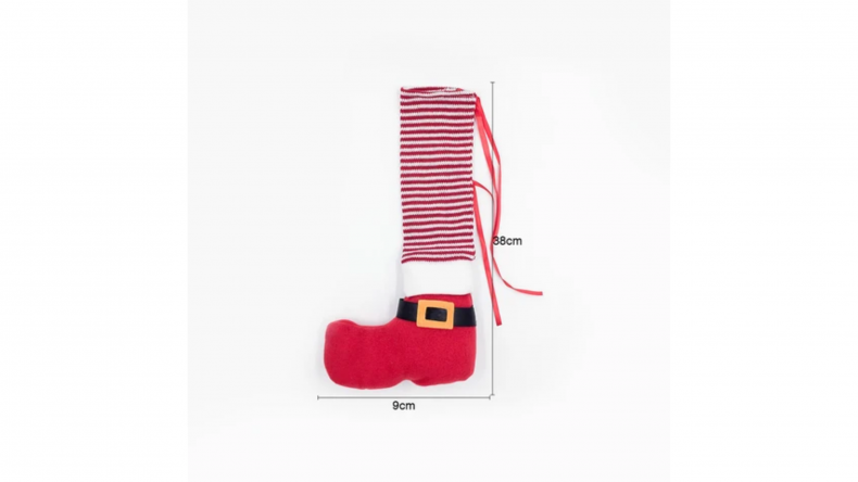 christmas-chair-foot-cover
