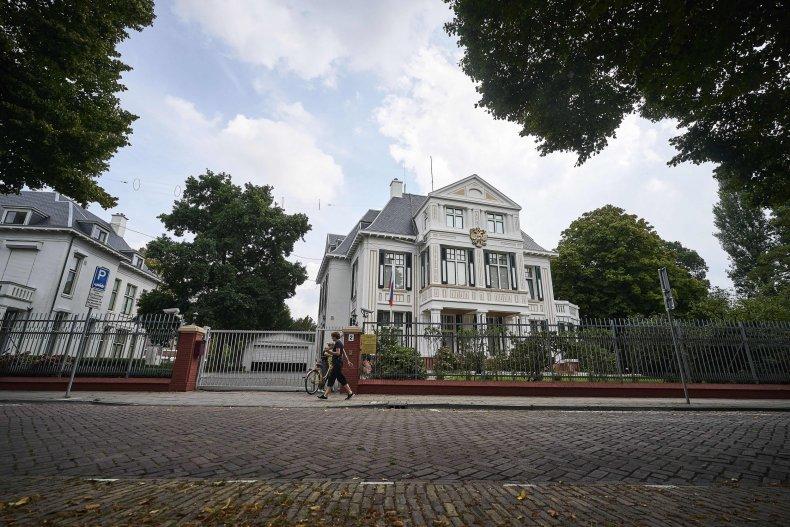 Russian embassy, Netherlands