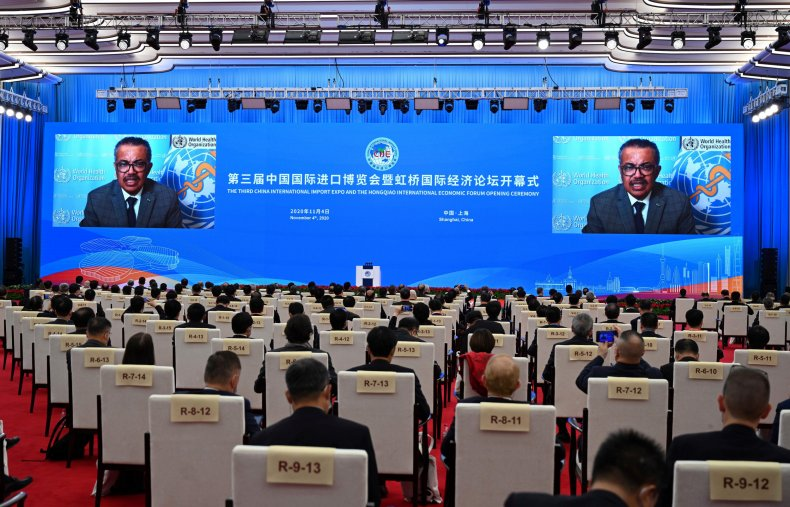 WHO director general China