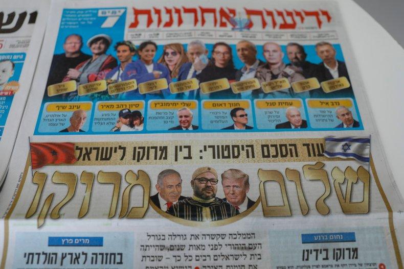 Israel newspaper morocco ties diplomacy peace deal