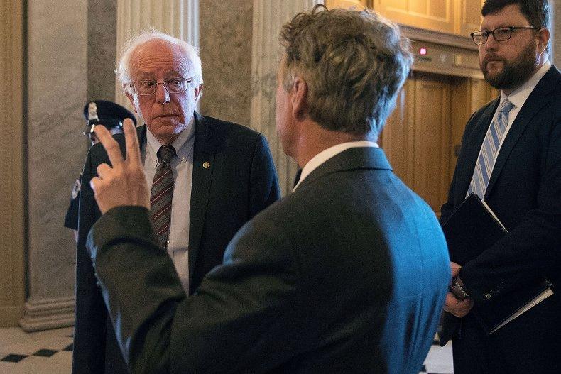 Bernie Sanders, Rand Paul