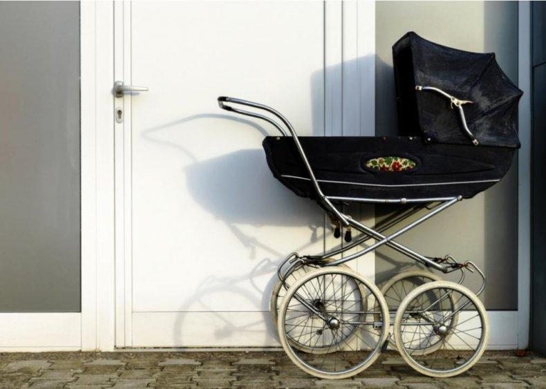 Scandinavia: Babies nap outside in winter