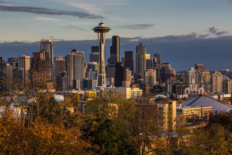 Seattle skyline in 2015
