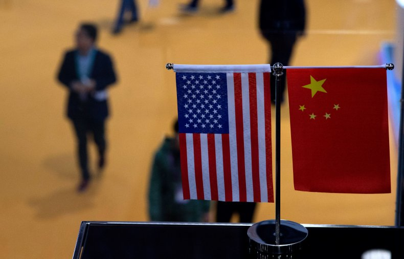 us, china, flags, import, shanghai