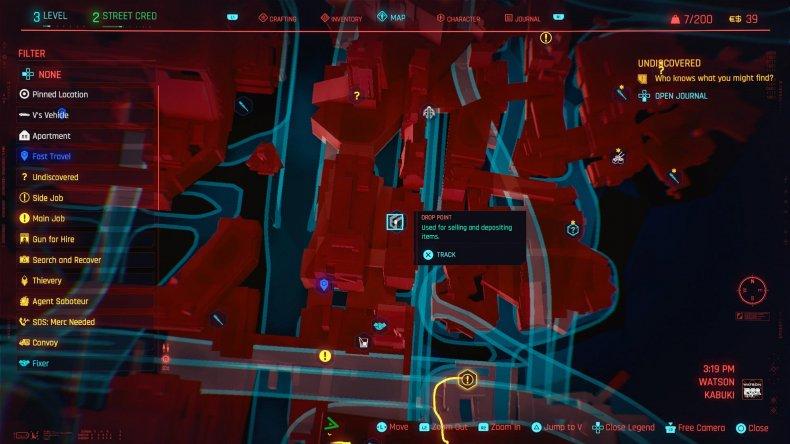 cyberpunk 2077 money guide drop point