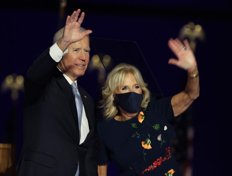 Joe Biden and Jill Biden in Delaware