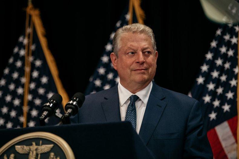 Al Gore says Joe Biden offers hope