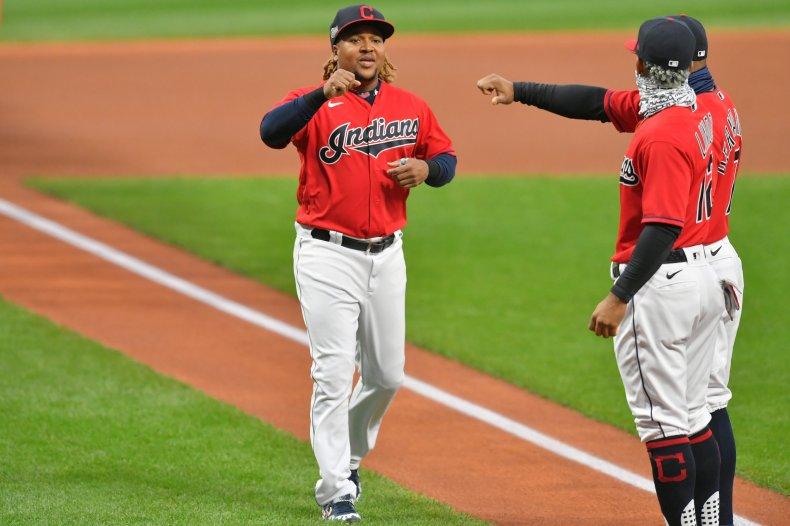 Jose Ramirez of the Cleveland Indians