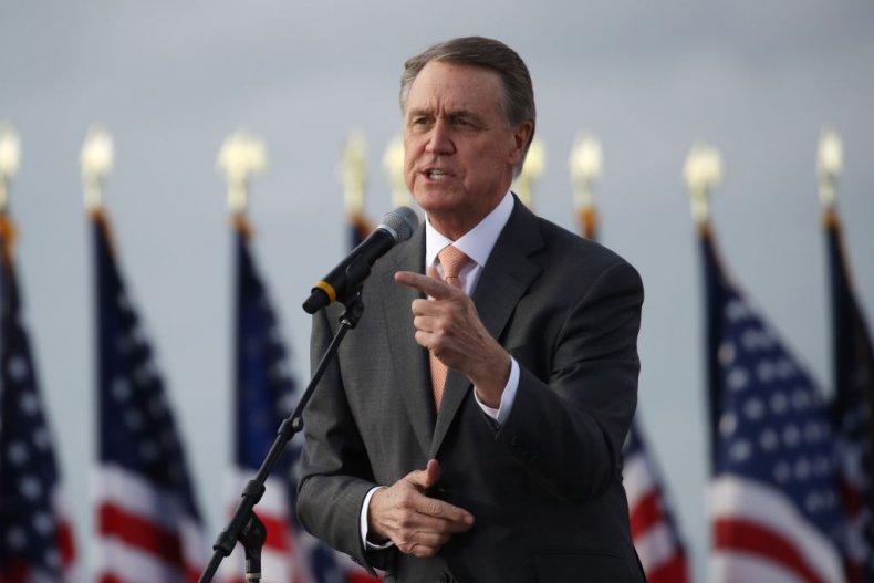 Republican Senator David Perdue