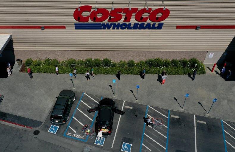 A Costco store in California