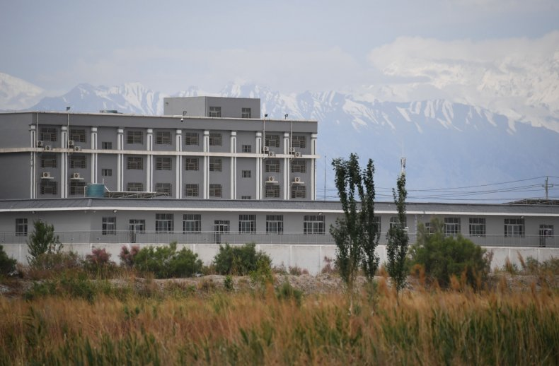 """Xinjiang facility believed to be a """"re-education""""camp"""
