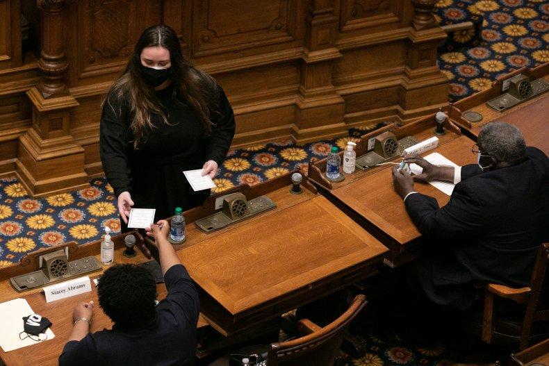 georgia electors meet to vote 2020 election