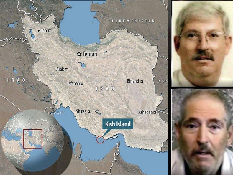 robert, levinson, map, iran, disappearance