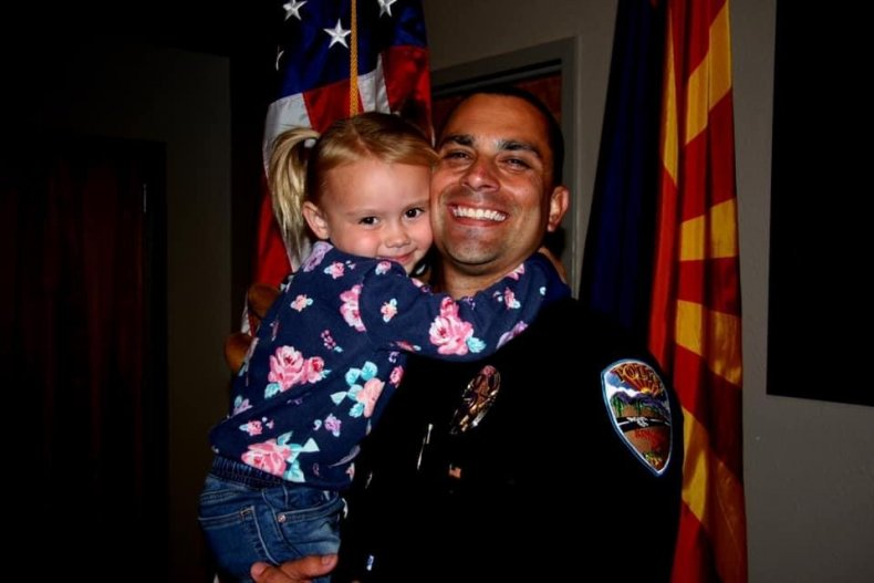 Police, Police Officer, Adoption, Father, daughter