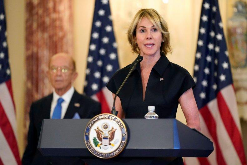 Ambassador Kelly Craft Speaks At State Department