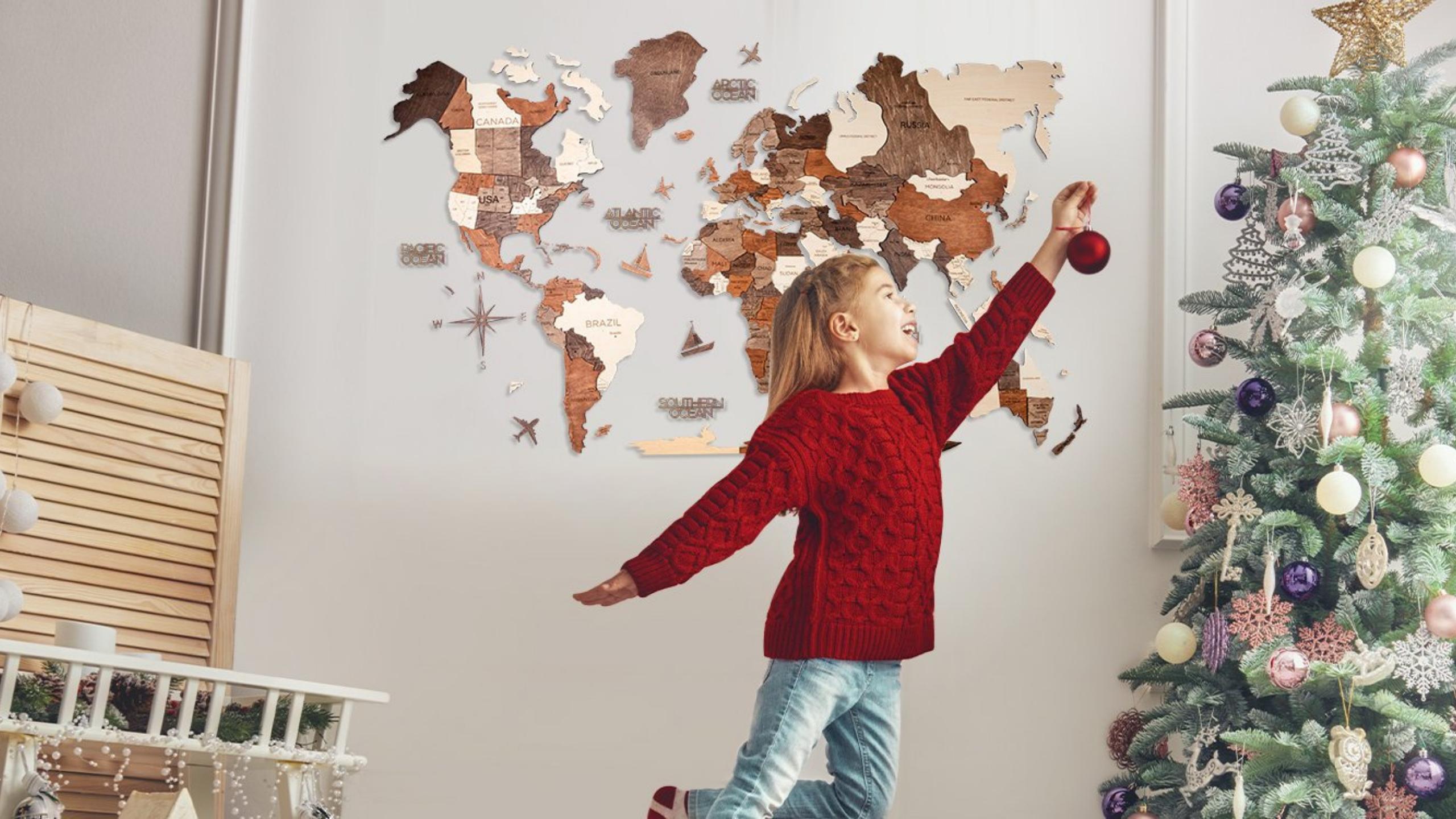 EnjoyTheWood™ Wooden Maps