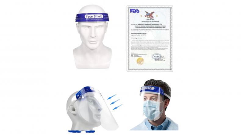 DMB Supply Face Shield