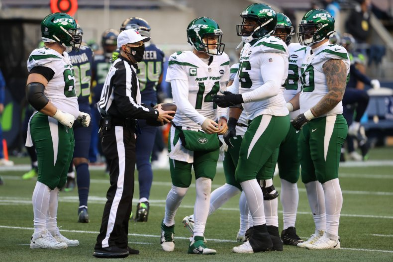 New York Jets QB Sam Darnold