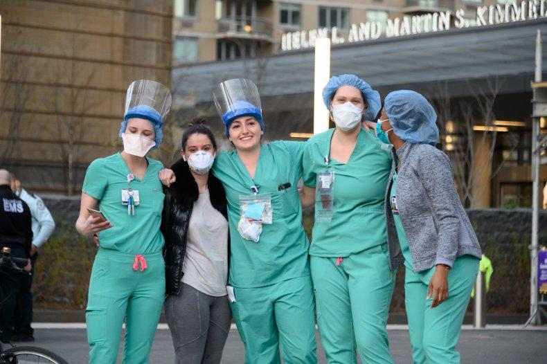 Doctors Nurses COVID 19