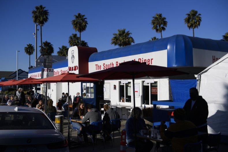 Outdoor Dining California