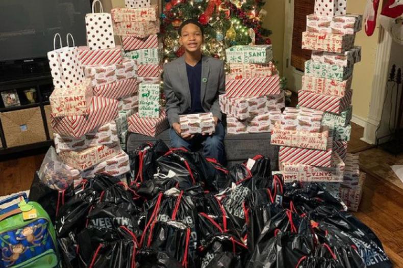 Christmas, Charity, Homelessness, Teenagers