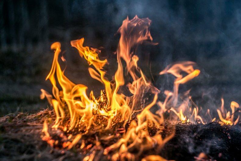 Fire, Homelessness, San Antonio