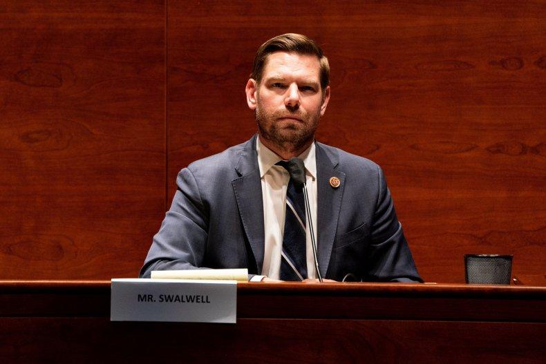 Rep. Eric Swalwell Intelligence Committee