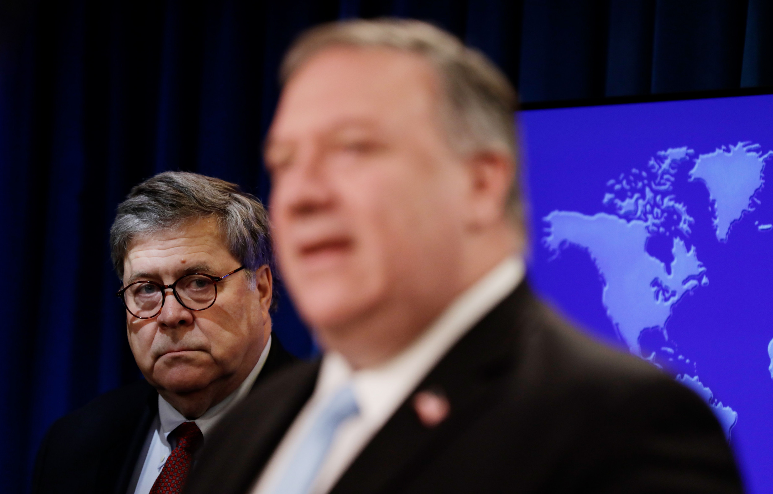 Pompeo Praises AG Barr for Crushing Mueller 'Propaganda' and Preserving U.S. From 'Rogue FBI' thumbnail