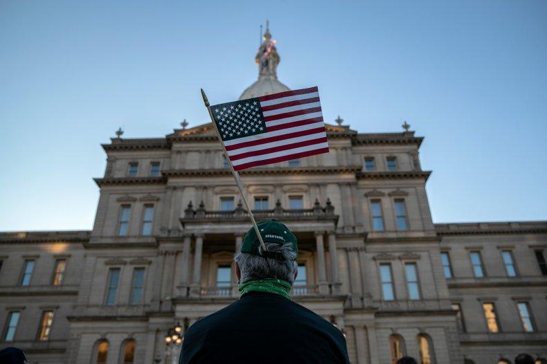 Michigan Republican electors Ian Northon fake college
