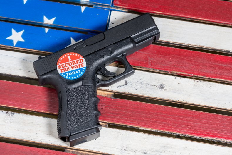 Houston Cop Election Fraud Gun