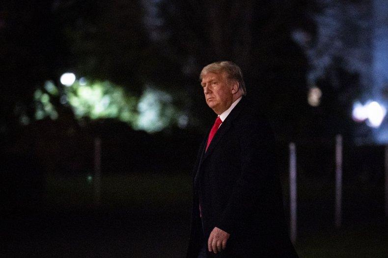donald trump mathematical possibility second term