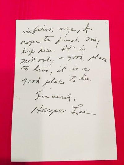 Harper Lee, Letters, Dogs, Alabama