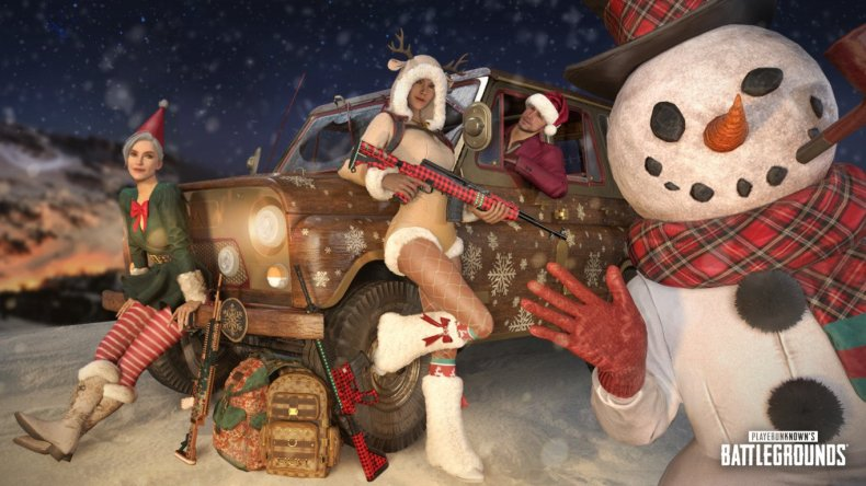pubg update 158 patch notes christmas skins