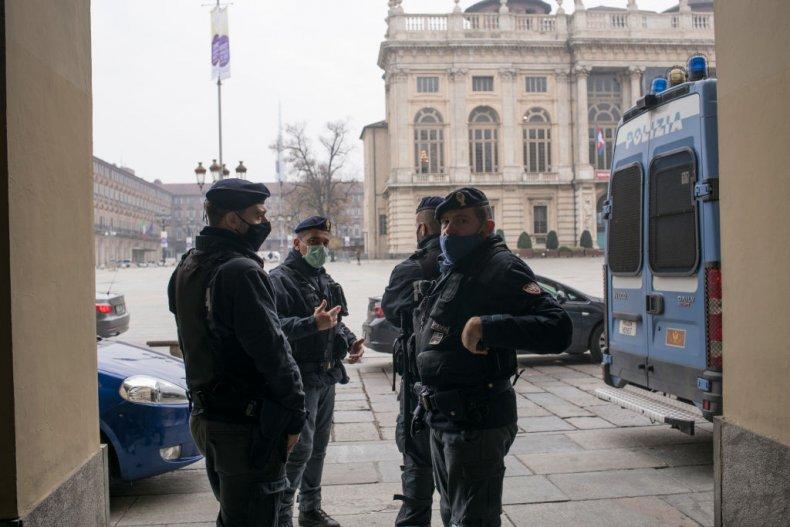 police turin italy