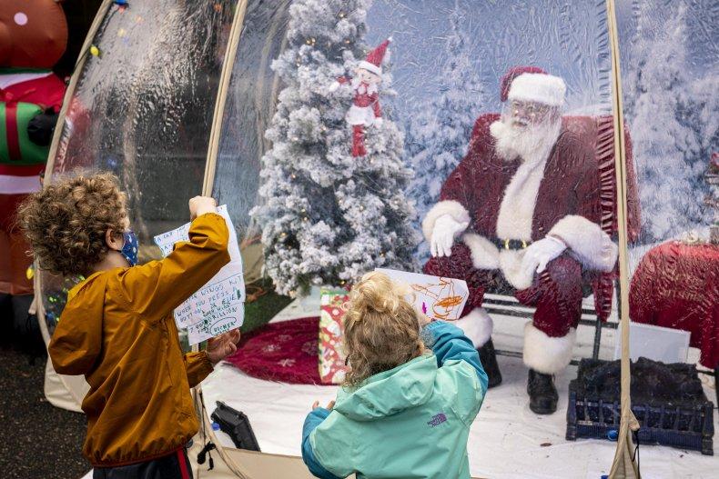 Seattle Santa