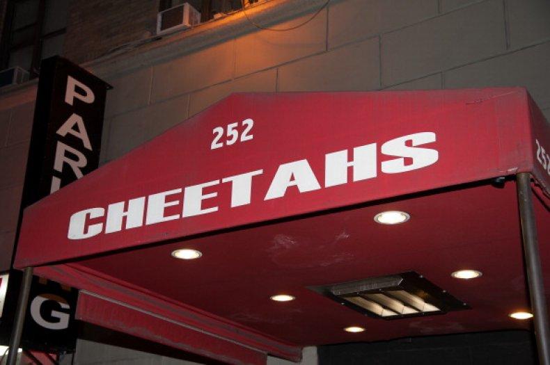 Charlie Sheen VIP Room At Cheetahs Gentlemen's
