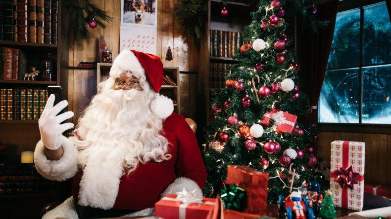 T-Mobile Santa