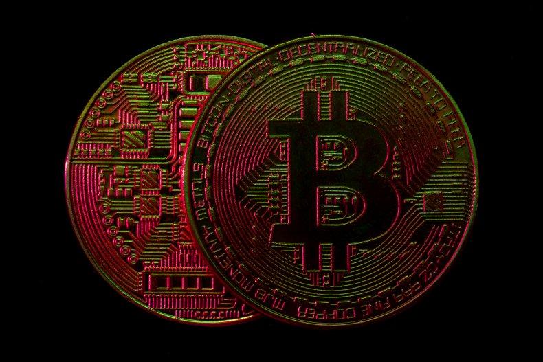 Bitcoin visual representation