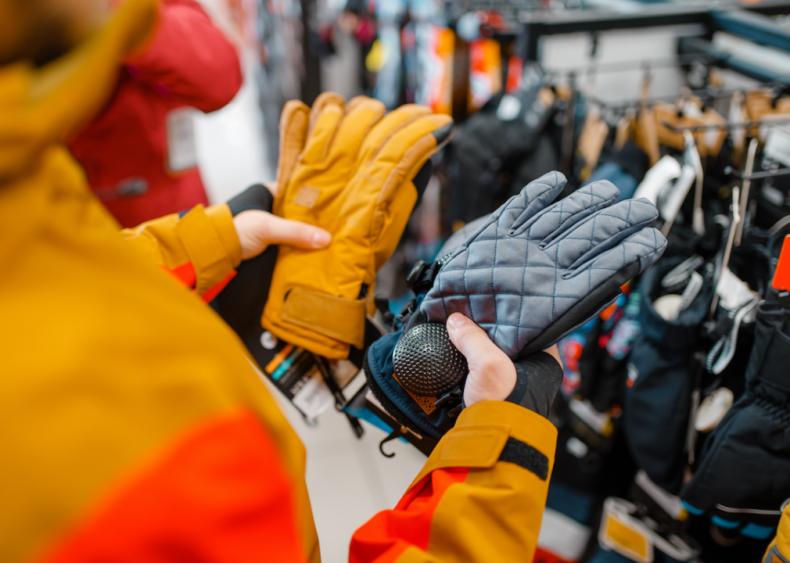 #6. Purchase weatherproof gloves