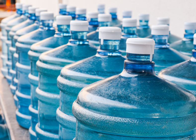#11. Set up a three-day supply of water